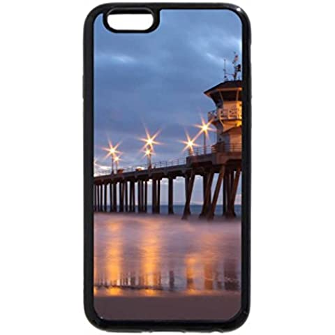 iPhone 6S / iPhone 6 Case (Black) Huntington Beach Pier