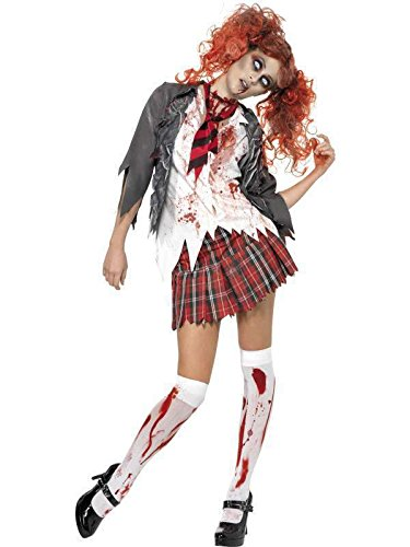zombie ecoliere Costume-Size xs