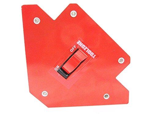 Funihut Aimant De Soudeur Support Daimant De Soudure sur 45/°//90/° Support Daimant De Soudage Interrupteur Marche//Arr/êt Pince Magn/étique//Carr/é Magn/étique WM1-4590S