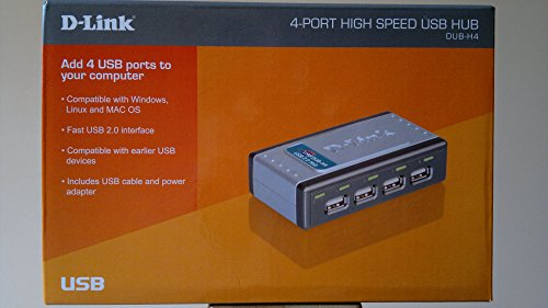 HUB USB2.0 4-Port D-Link DUB-H4
