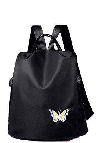 Rucksack Damen Schultertasche New Fashion Anti-Diebstahl Reisen Outdoor 32 X 33 X 16 Cm Schmetterling