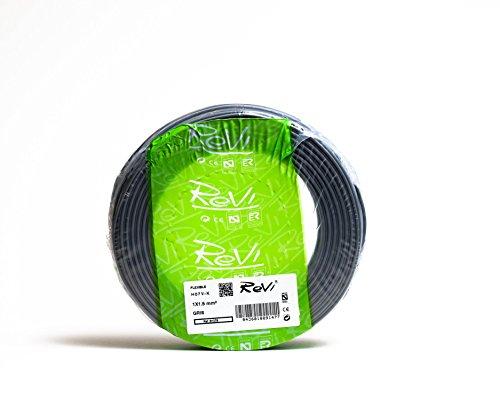Cable FLEXIBLE H07V-K 1 x 1,5 mm² 100 m (Gris)