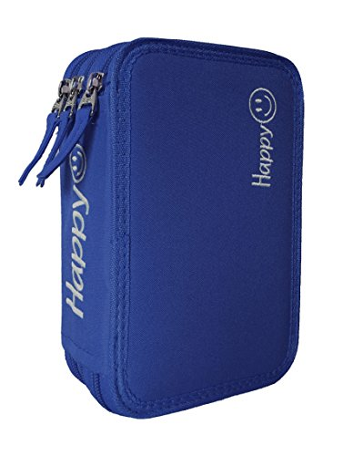 Tecnoteam HAPPY352478 Astuccio 3 Zip, Blu