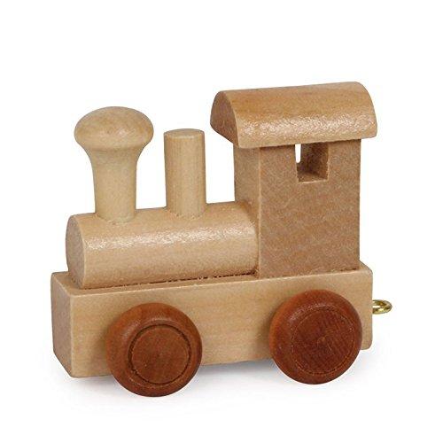 Buchstabenzug | Wunschname zusammenstellen | Holzeisenbahn | EbyReo® Namenszug aus Holz | personalisierbar | auch als Geschenk Set ( Lokomotive )