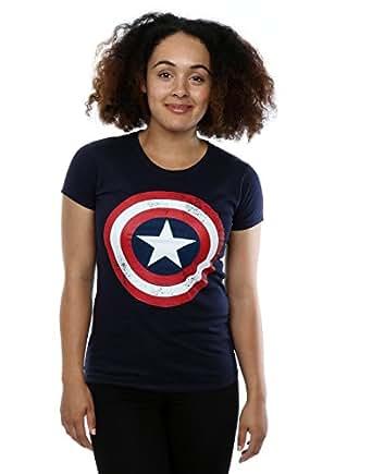 captain america t-shirt damen