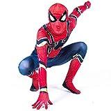 Diudiul Spiderman Kostüme für Kinder Action Dress Ups und Zubehör Party Cosplay Kostüm (L(165-175cm), Kostüme für Erwachsene)