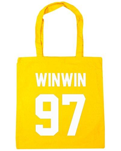 hippowarehouse-winwin-97-printed-on-the-black-tote-shopping-gym-beach-bag-42cm-x38cm-10-litres