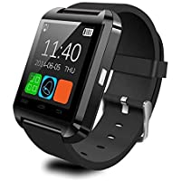 leonBonnie U8 Bluetooth Smart Watch Passometer Altimeter Music Player Wrist Watch Remote Control Photography Sports Watch