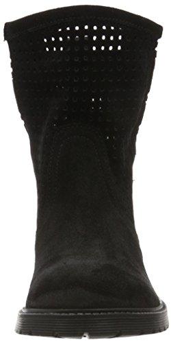 Buffalo 8106 Suede, Bottes Classiques Femme Noir (Black 01)