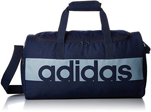 adidas Unisex Linear Performance Team S Tasche Collegiate Navy/Tactile Blue S17