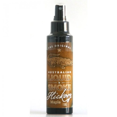 ALL-AUSTRALIAN Grillsauce Liquid Smokes Hickory Maple 118ml