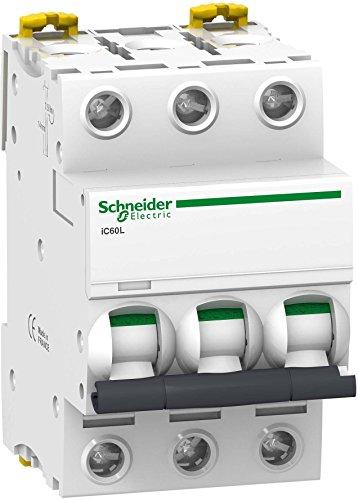 Schneider A9F94350 Leitungsschutzschalter iC60L, 3P, 50A, C-Charakteristik, 15kA