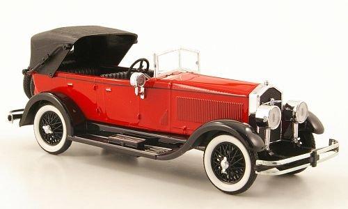 isotta-fraschini-8a-rot-schwarz-1924-modellauto-fertigmodell-rio-143