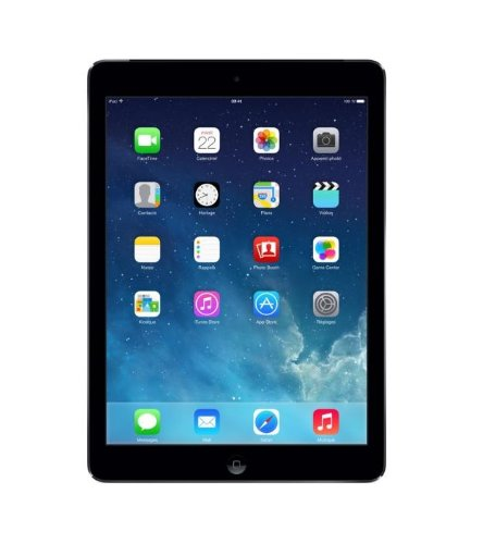 Apple iPad Air - Tablet de 9.7 (4G + WiFi + Bluetooth, 16 GB, 1 GB RAM, iOS 7), gris espacial