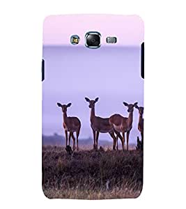 printtech Nature Animal Deer Back Case Cover for Samsung Galaxy A7 / Samsung Galaxy A7 A700F