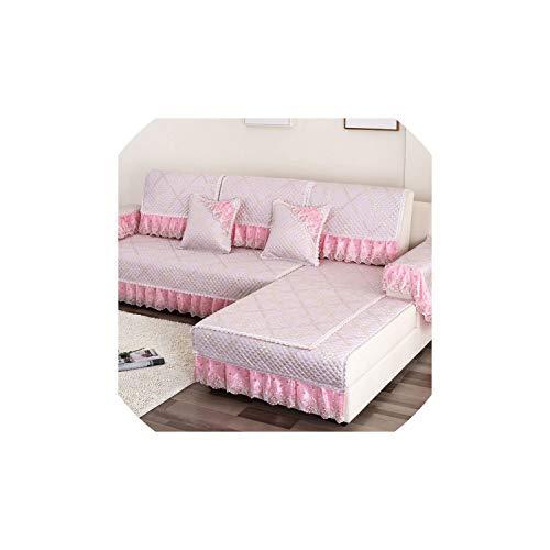 Sofa-Abdeckung Kombination Kit Couch Dig Mats Futon Abdeckung Slipcovers Slip-on-Sofakissen, 3,70X210Add 17 cm Spitze -