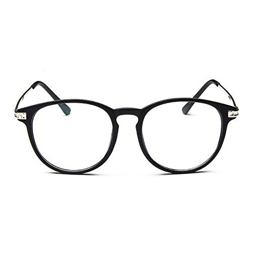 Haodasi Retro Nearsighted Glasses Full Frame ShortSight Glasses Myopia Eyeglass -1.0~6.0 Myopie Lunettes Court Sighted Lunettes Nearsighted Lunettes Matte Black