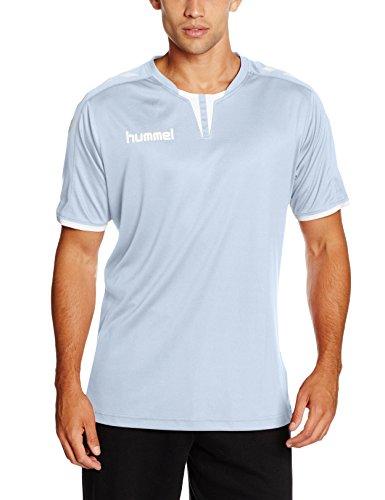 Hummel Herren Trikot Core Short Sleeve Poly Jersey, Argentina Blue, L, 03-636-7035 (Jungen Shirt Core Fußball)