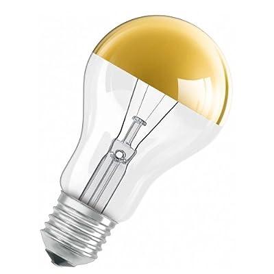 Radium Glhbirne 40w E27 Gold Kopfspiegel Kopfspiegellampe 40 Watt Kvg Glhlampe von Radium