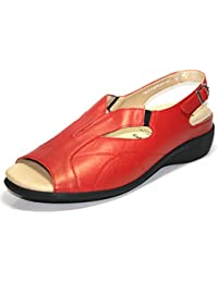 Solidus - 016 gaby 710020 0356 sommerschuhe femme rouge (fire) 42,5 g