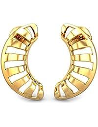 Candere By Kalyan Jewellers 22k (916) Yellow Gold Josie Stud Earrings for Women