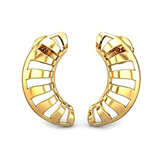 Candere By Kalyan Jewellers 22k (916) Yellow Gold Josie Stud Earrings for Women