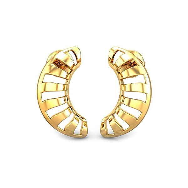 ef907319a Candere By Kalyan Jewellers 22k (916) Yellow Gold Josie Stud Earrings for  Women