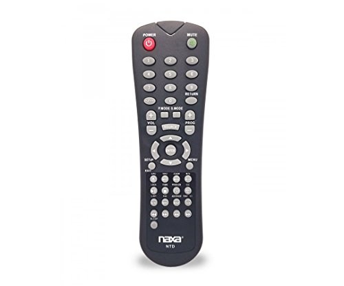 NAXA Original Ersatz-Fernbedienung für NAXA NT und NTD Modell 12Volt TVS und TV/DVD Combo Spieler Dc-tv-dvd-combo