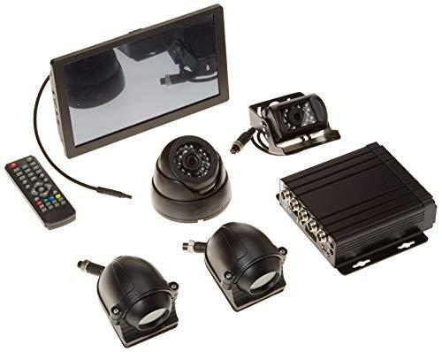 WeniChen Panorama MDVR Kit für Bus Truck Auto Sicherheit - 960P 4 Kanal SD Karte Handy DVR Video Recorder + 4 x 720P vorne Seite hinten View Kameras + 9