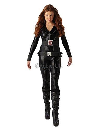 Black Widow Catsuit Kostüm - Grösse: Small