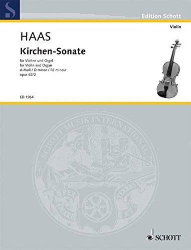 Kirchen-Sonate d Minor Op. 62/2