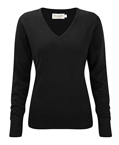 Russell Collection - Sweat-shirt - Femme Noir - Noir