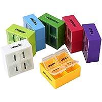 Tablettenbox 7 Tage Groß Wöchentliche Pillendose Medikamentenbox Farblich mit 4 Fächern pro Tag preisvergleich bei billige-tabletten.eu