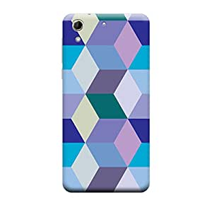 CaseLite Premium Printed Mobile Back Case Cover With Full protection For HTC 728 (Designer Case)