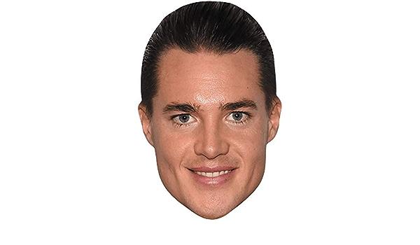 Smile Damon Albarn Card Face and Fancy Dress Mask Celebrity Mask