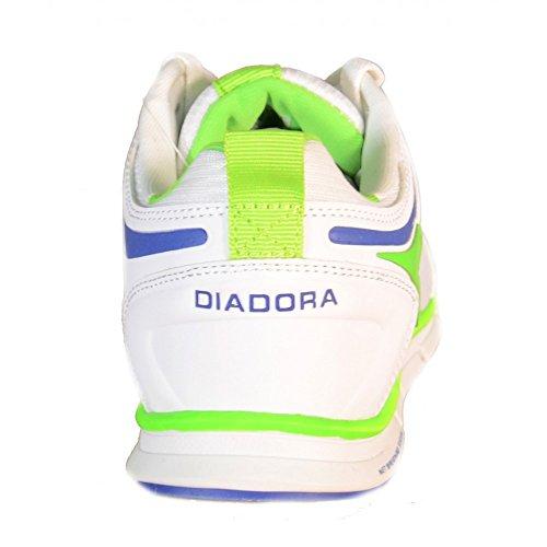 Diadora - Diadora NJ-404 Laufschuhe Weiss Leder Textil 158608 Weiß