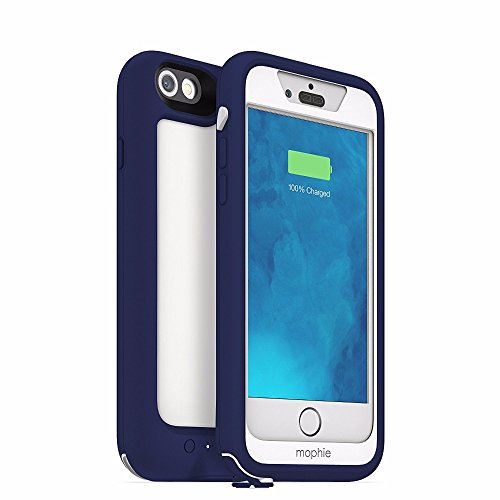 Mophie 3103_JPPRO-IP6-BLU Juice Pack Pro Hardcase mit Akku für Apple iPhone 6 blau