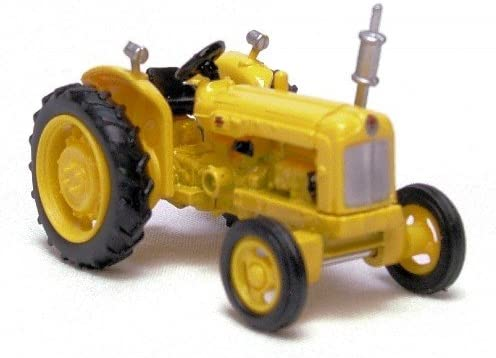 Oxford Die Cast - B0029Z2DA4 76TRAC003 - Tracteur Fordson en livrée jaune Voirie B0029Z2DA4 - b79445