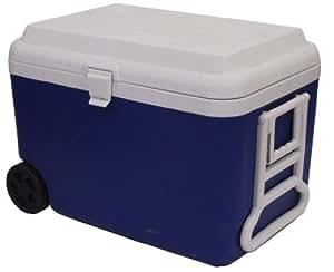 epicurean europe borsa frigo con rotelle 61 x 40 x 45 cm 50 l colore blu bianco. Black Bedroom Furniture Sets. Home Design Ideas
