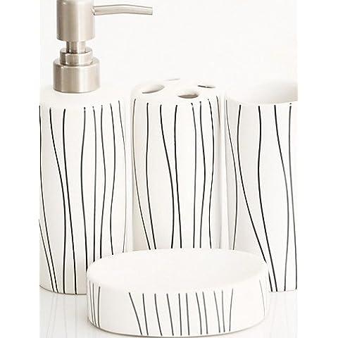 Dngy*El clásico traje de baño de 4 piezas(patrón aleatorio)