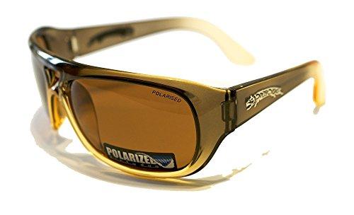 Dirty Dog Sledg Farbverlauf Brille, Unisex Erwachsene, braun (), XL