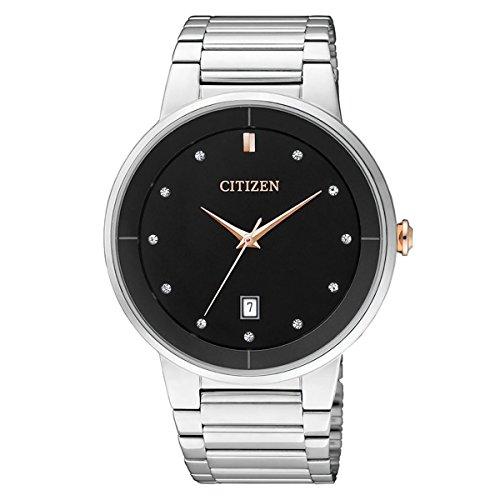 Citizen Analog Black Dial Men's Watch - BI5014-58E