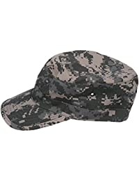 SODIAL(R) Military Army Urban Sun Visor Cap Mens Lady Hat Camo Camouflage Jungle Baseball - ACU Camo