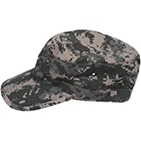 SODIAL(R) Ejercito Militar Urbano Visera Cap Mens Senora Sombrero Camo camuflaje selva beisbol - ACU Camo