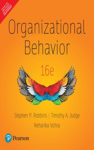 Organizational Behavior Stephen P Robbins 16th Edition Pdf