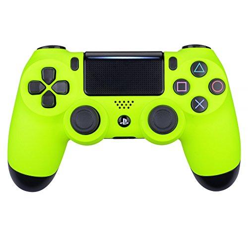 eXtremeRate Hülle für PS4 Controller,Vorderseites Case Gehäuse Cover Schutzhülle Oberschale Skin Schale für Playstation 4 PS4 Slim PS4 Pro Controller JDM-040 JDM-050 JDM-055(Lindgrün) (Ps4-gehäuse)