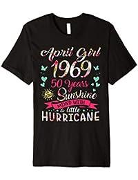 April 1969 50 years sunshine mixed hurricane t shirt