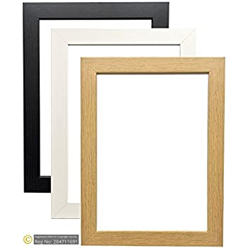 OAK WOODEN EFFECT PICTURE PHOTO POSTER FRAMES (A1 (23.4\