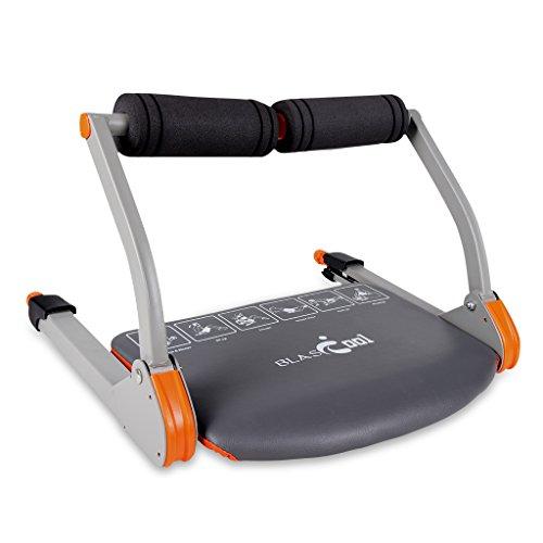 Blascool MD-ABM Portatil Aparato Ejercitador Maquina para Muscular Abdominal Entrenamiento Ejercicio Gimnasio Carga hasta 100Kg,