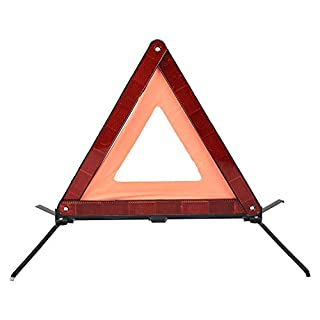 AYKRM Emergency Warning Triangle, European Standard ECE R27 (Orange,)
